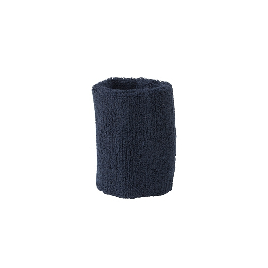 Navy blauw zweetbandje voor pols